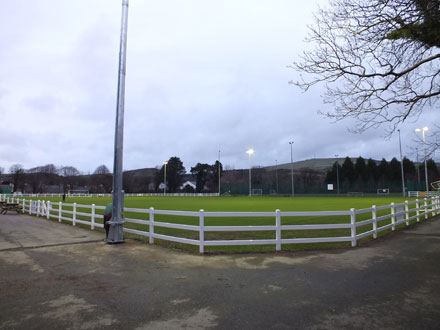 Sports ground perimeter fence